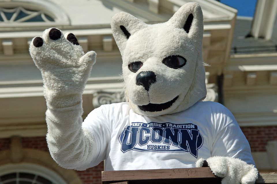 UConn Huskies Mascot Connecticut