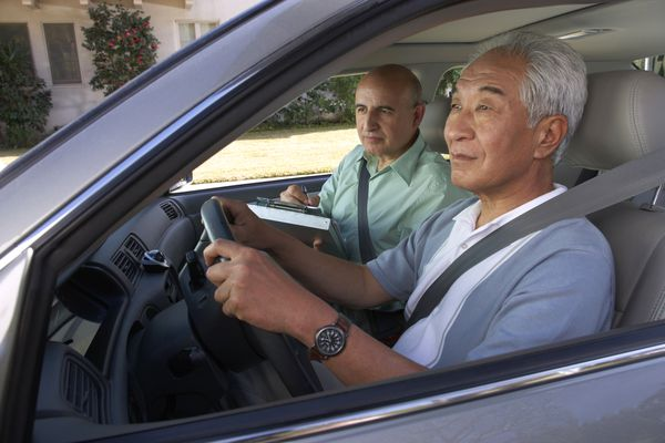 A Driving Test for the Person with Dementia