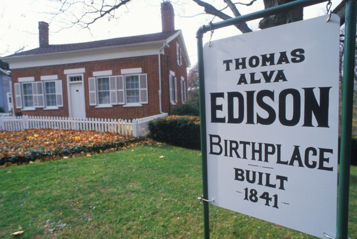 Birthplace of Thomas Edison Museum, Milan, OH