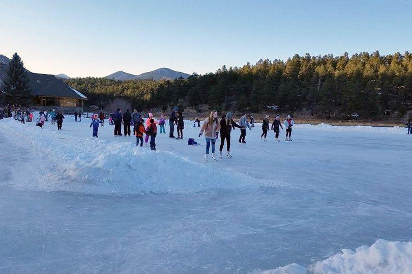 Evergreen Lake Iceskating