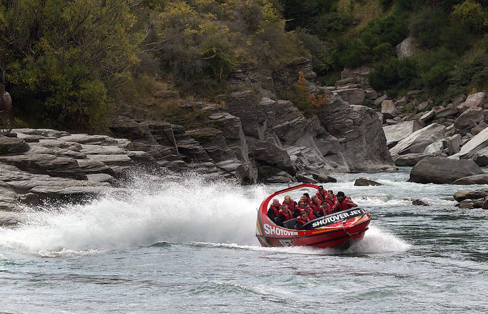 Jet Boats in New Zealand