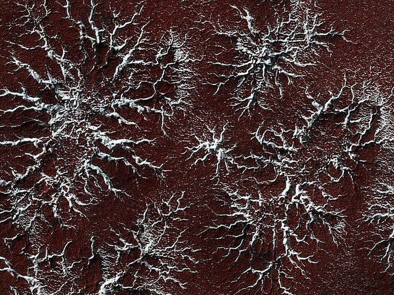 Marte, superficie de Marte, agua en Marte, hielo en Marte