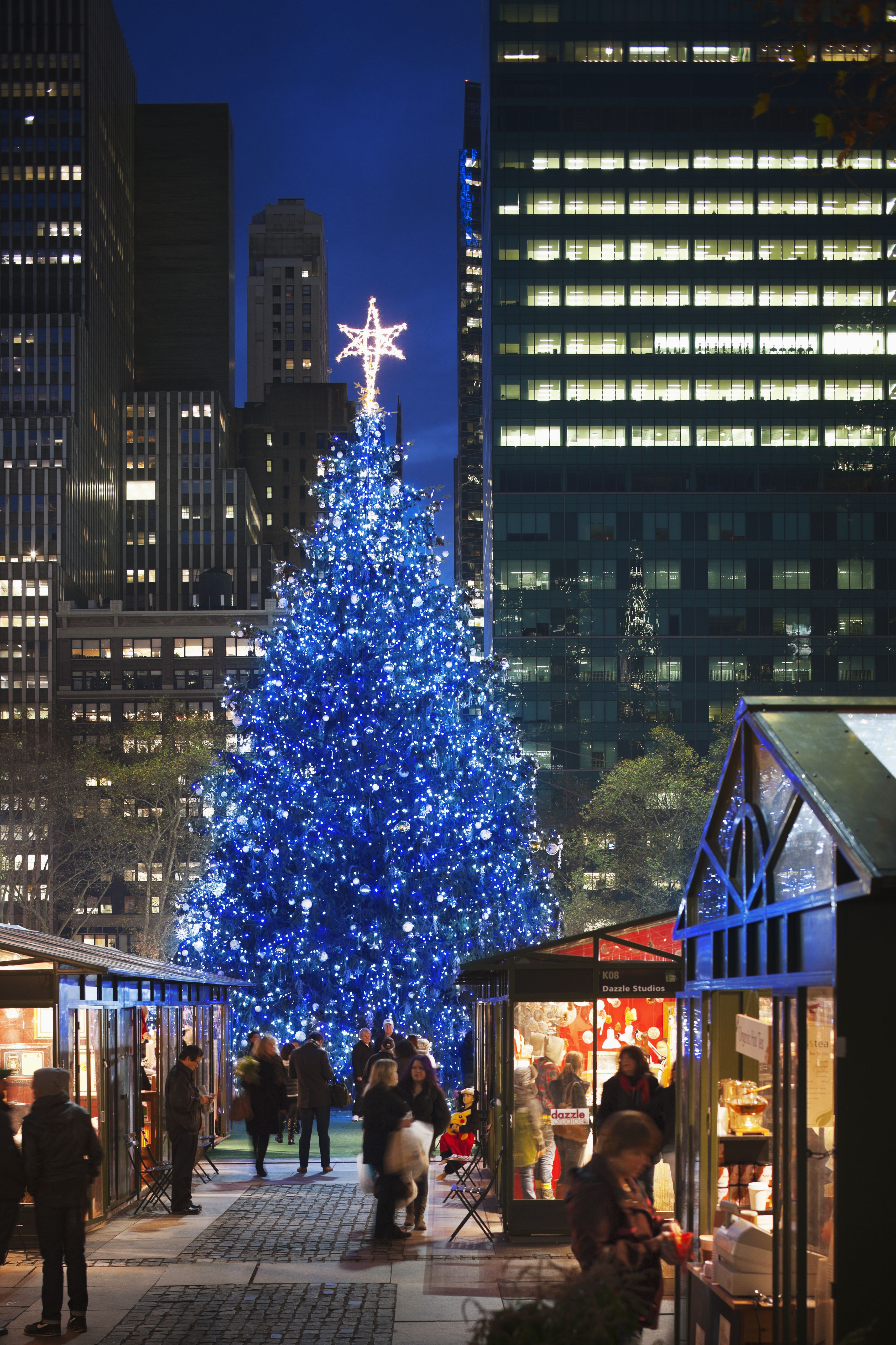 All The Christmas Trees In NYC You Need To See - South Park Christmas Tree Lighting