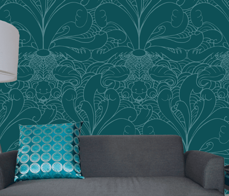 you can design your own decor fabric and wallpaper