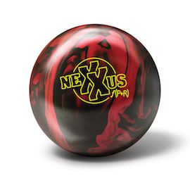 The Brunswick Nexxus f(P+R) bowling ball.
