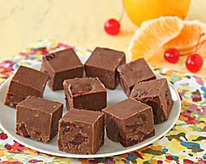 Orange-Cherry Fudge photo