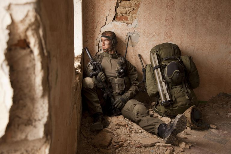 Special forces operator cease fire