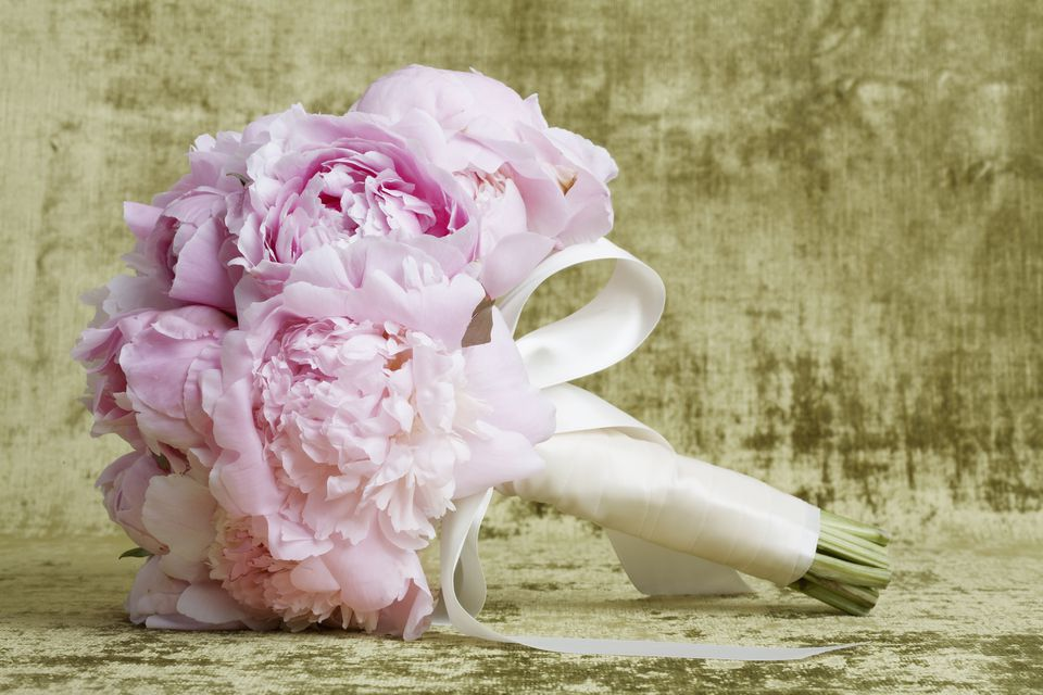 The 12 best spring wedding flowers in season pink peony bouquet junglespirit Images