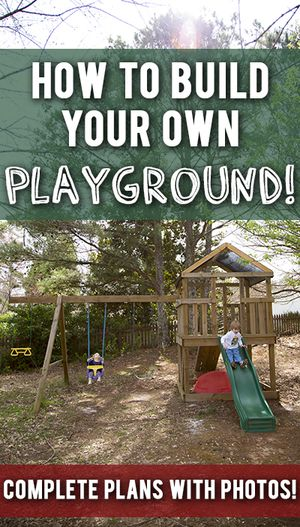 11 free wooden swing set plans to diy today a wooden diy playground solutioingenieria Images