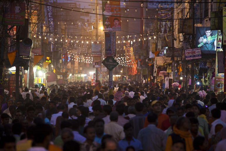 Hindu Festival in Varanasi, India