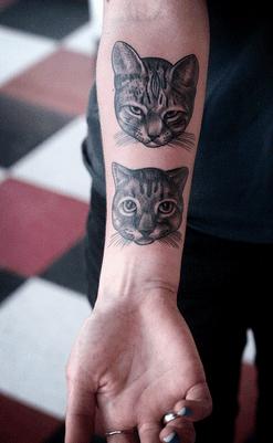 Tatuajes de gato. Significado y simbología