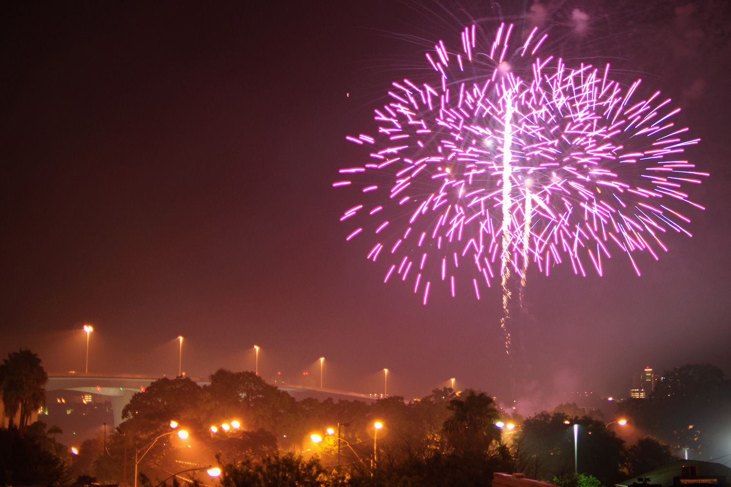 Firework Shows in Tampa for Fourth of July