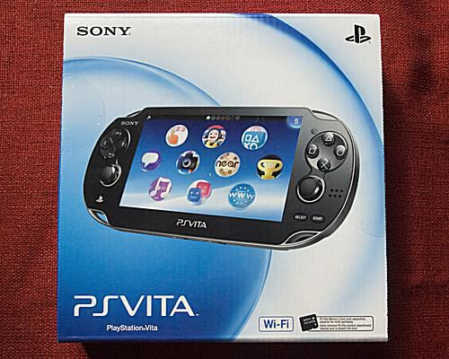 PS Vita Box Front