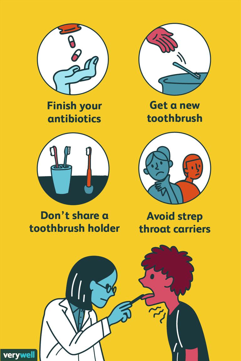 strep throat prevention