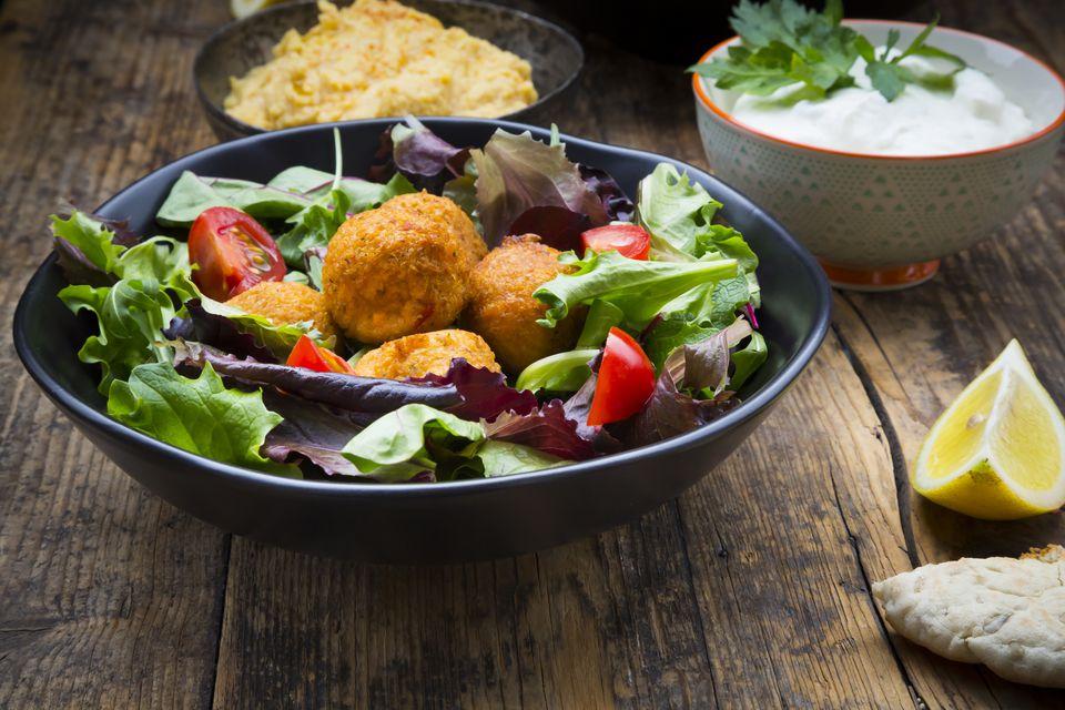 sweet-potato falafel