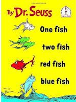 one fish two fish red fish blue fish printables - One Fish Two Fish Red Fish Blue Fish Coloring Pages