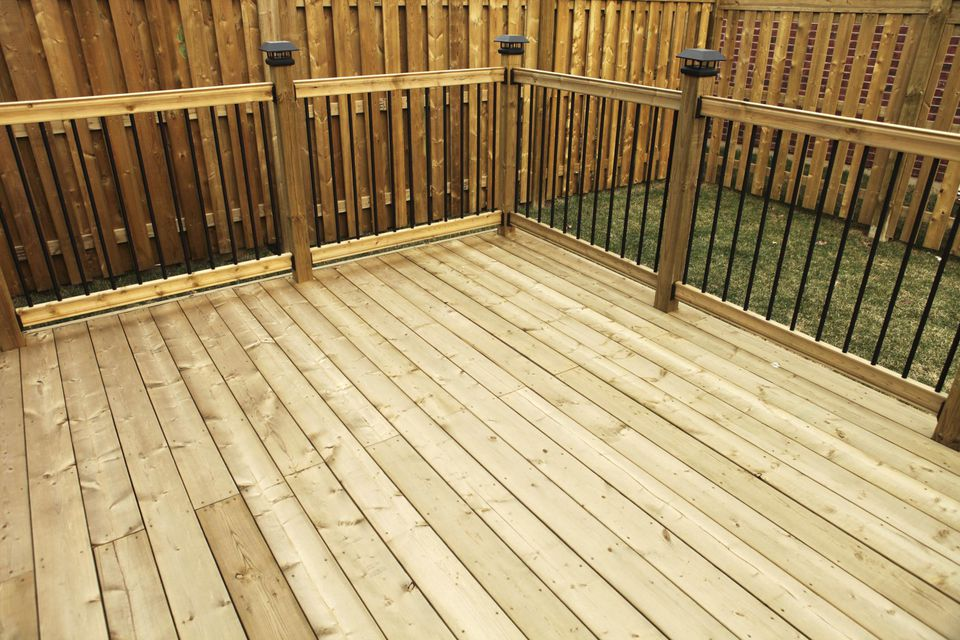 Wood and composite decking pros and cons for Hardwood decking supply