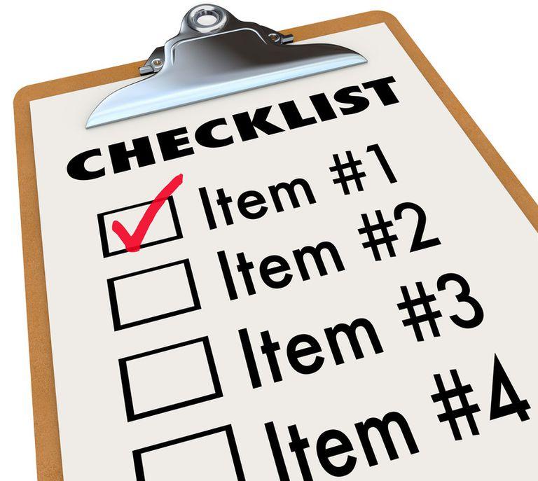 Real Estate Transaction Management List
