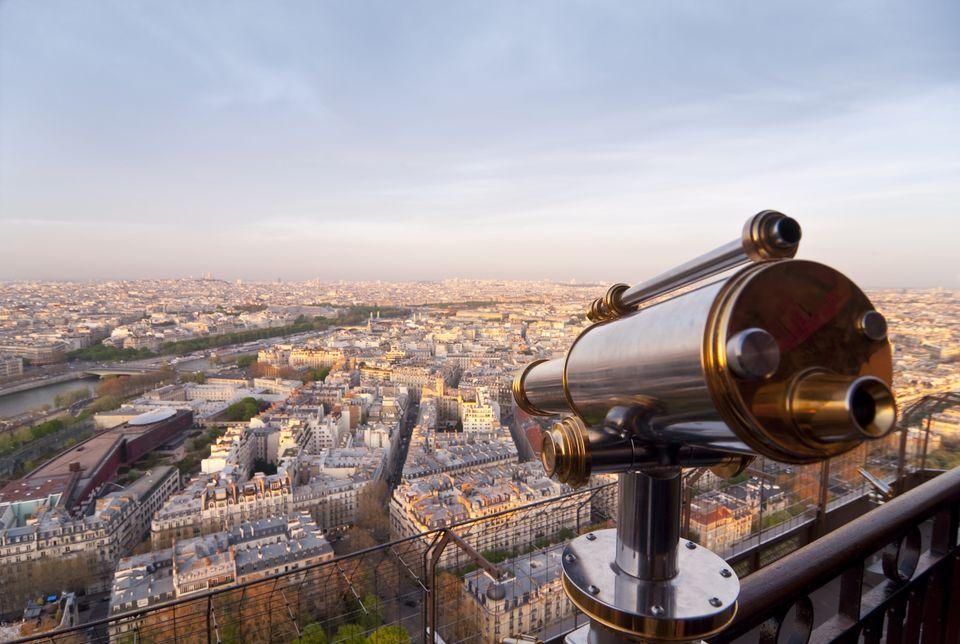 Paris - Sightseeing Telescope