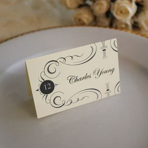 free table place cards template