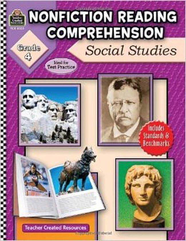 Fourth Grade Reading Comprehension Books – Teacher Created Resources Inc Worksheets Answers