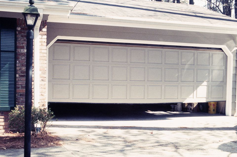 How to determine garage door sizes for Garage automobile ouvert