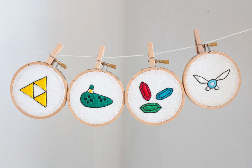 Legend of Zelda Embroidery Patterns