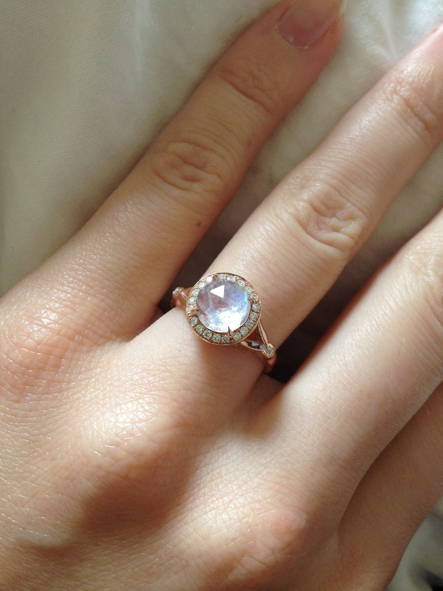 interesting moonstone facts history and meaning - Moonstone Wedding Ring