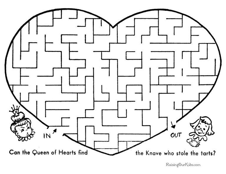 raising our kids free printable mazes