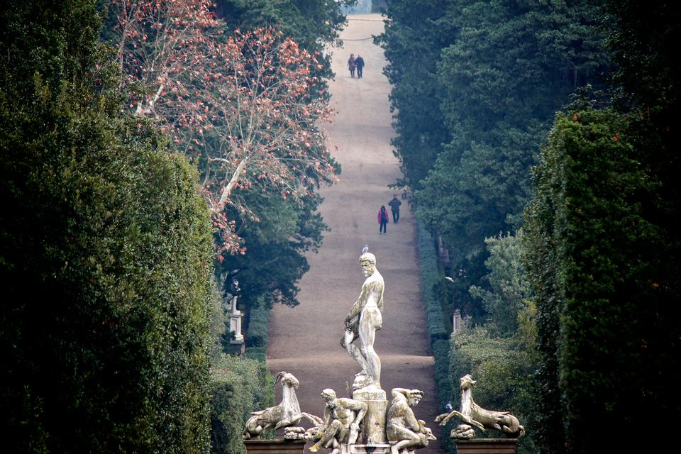 The Boboli Gardens (Italian: Giardino di Boboli) is a park in Florence, Italy, that is home to a collection of sculptures dating from the 16th through the 18th centuries, with some Roman antiquities.