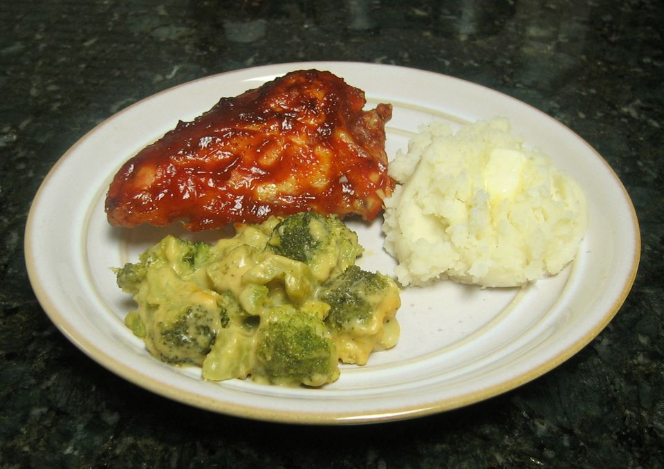 Baked Barbecued Chicken