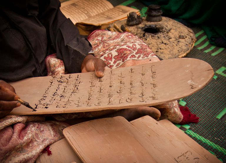 Writing koran boards