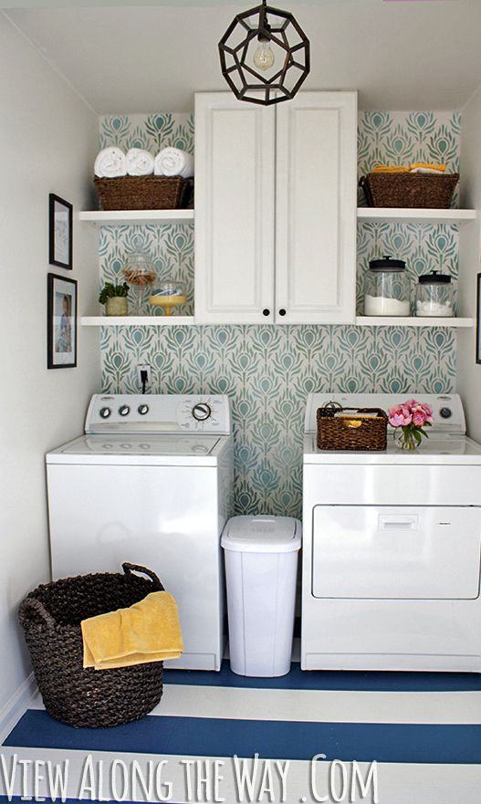 Laundry Room Update on a Budget