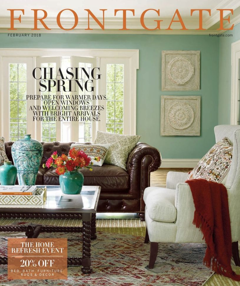 Home Decoration Catalogs: How To Request A Free Frontgate Catalog