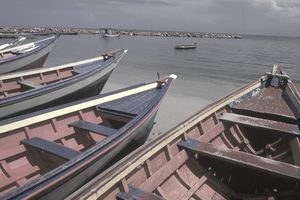 Boats in Venezuela, one of the countries in the Banco del Sur