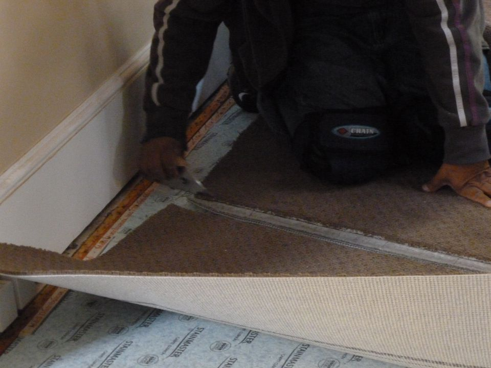 Laying Out Carpet