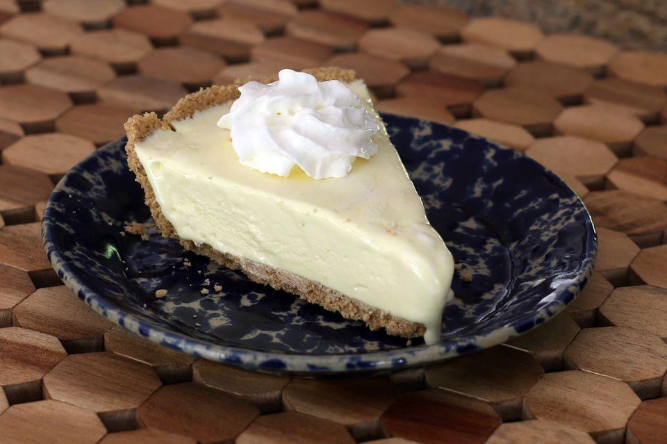 Lemonade Ice Cream Pie or Frozen Lemonade pie