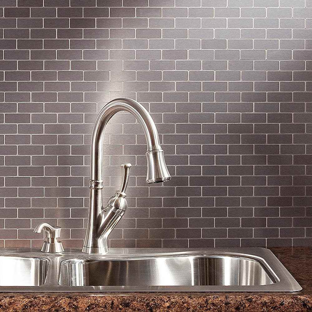 Peel and stick backsplash tile guide dailygadgetfo Image collections