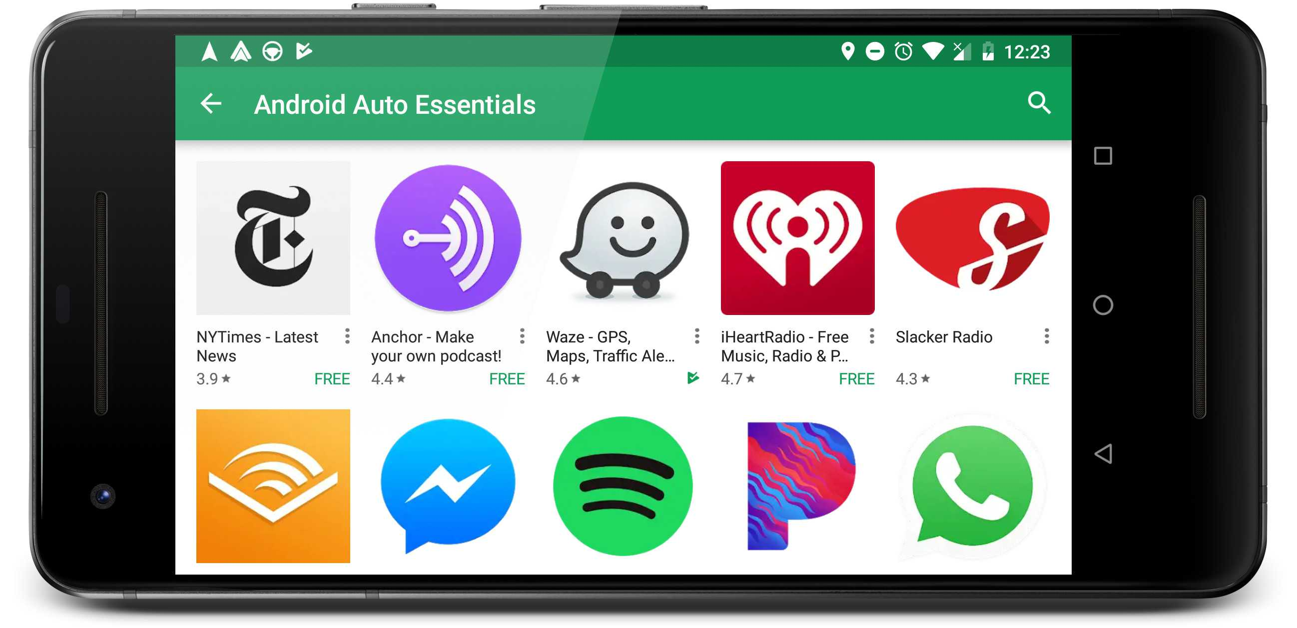 android auto apps