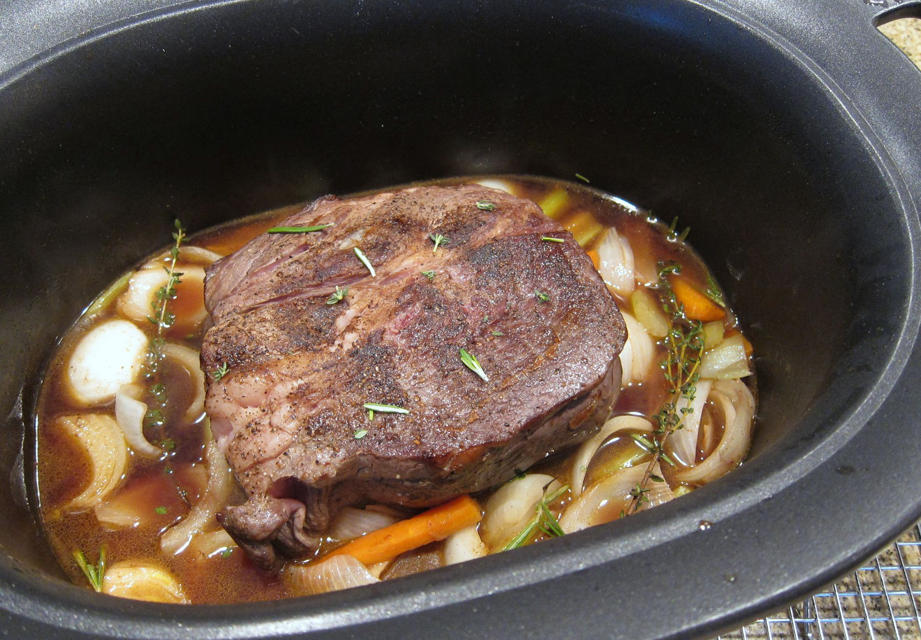 recipe: what temperature to slow cook a roast in the oven [18]