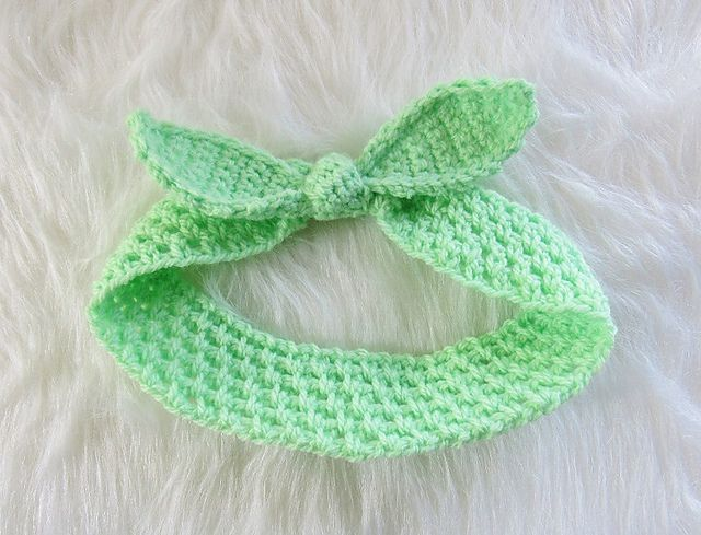 Free Patterns For Crochet Headbands