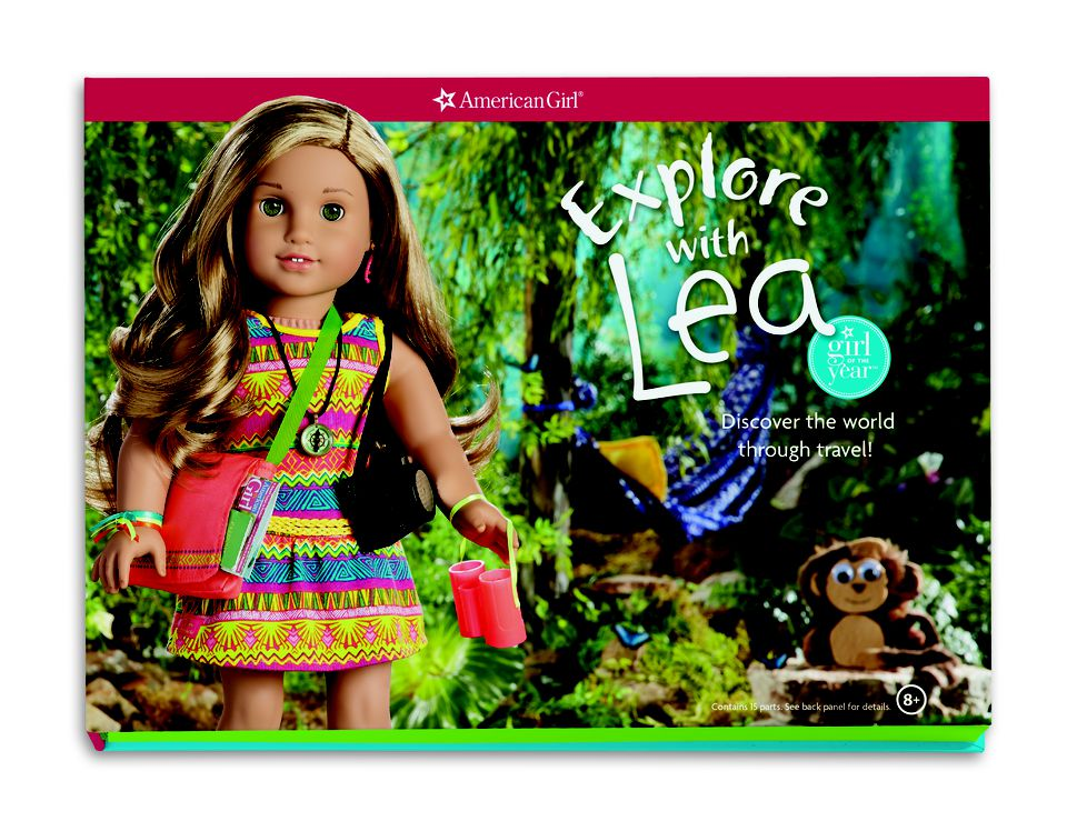American Girl Doll of the Year Lea Clark