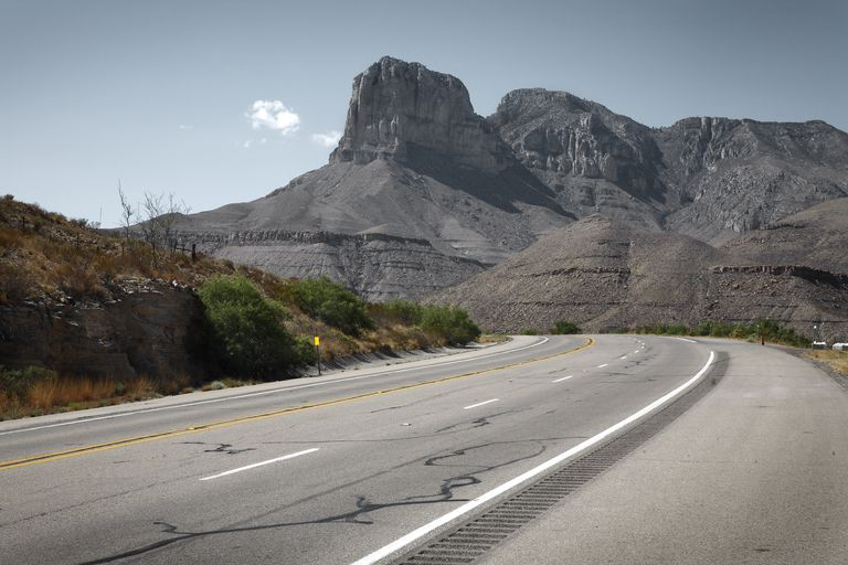 Guadalupe Peak, Salt Flat, Texas, USA