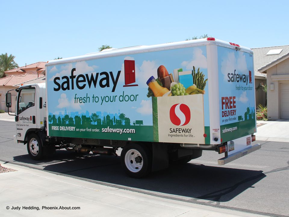 Safeway Grocery Delivery Truck