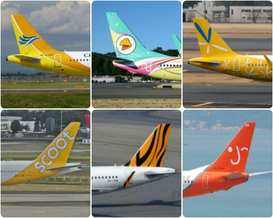 Empennage livery of Value Alliance members