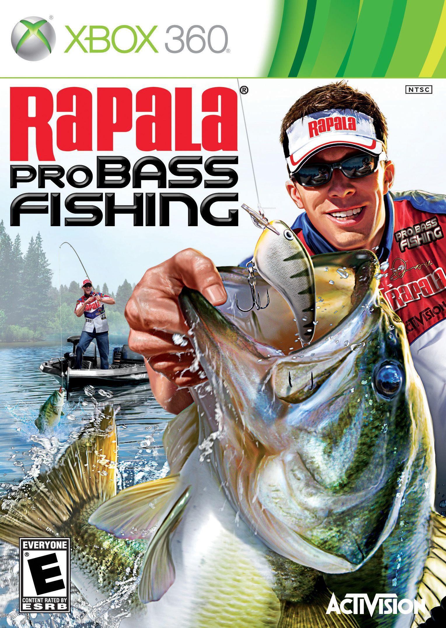 Rapala pro bass fishing game review xbox 360 for Rapala fishing frenzy 2009