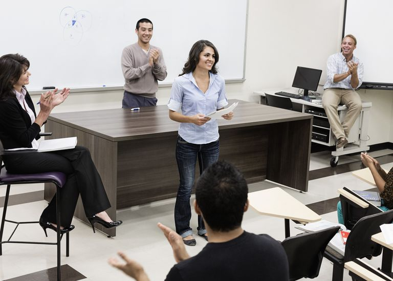 how to write a great speech for any occasion student presenting a paper in class