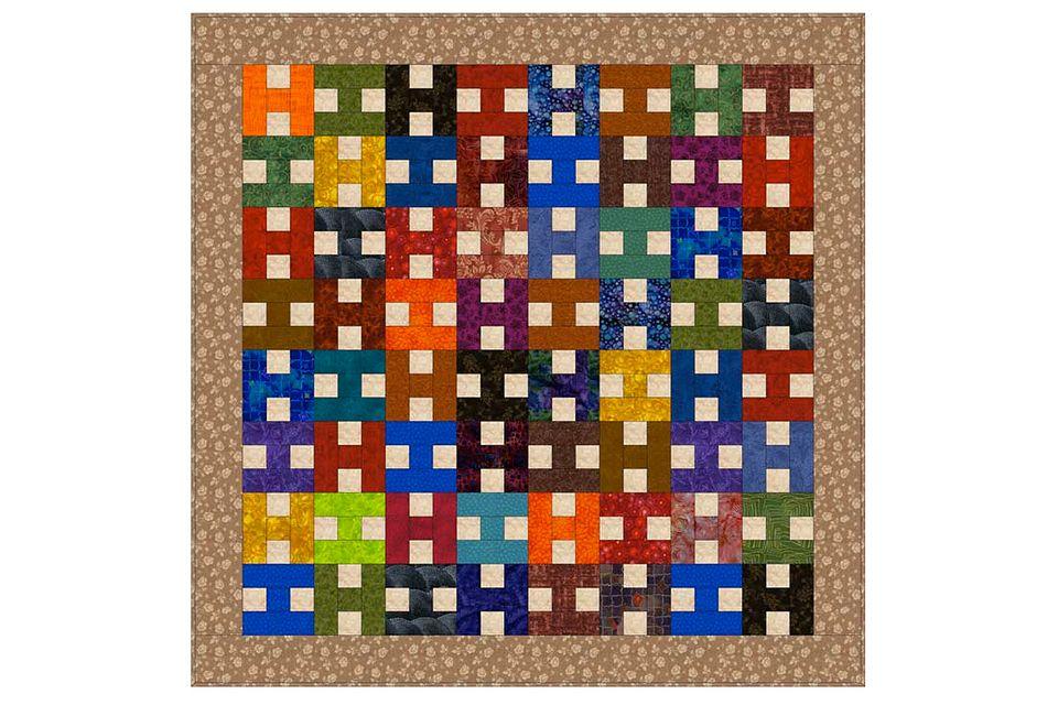 Easy Scrap Quilt Pattern