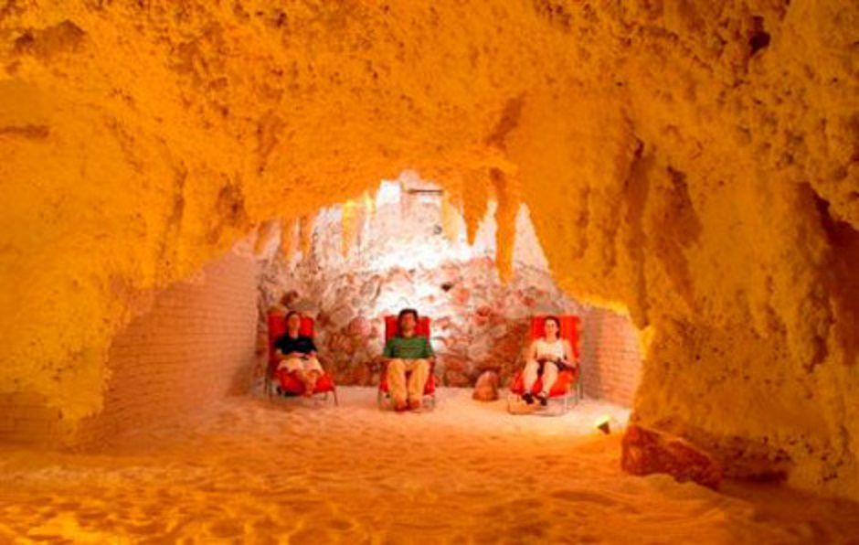 Baden-Baden Salina sea salt grotto