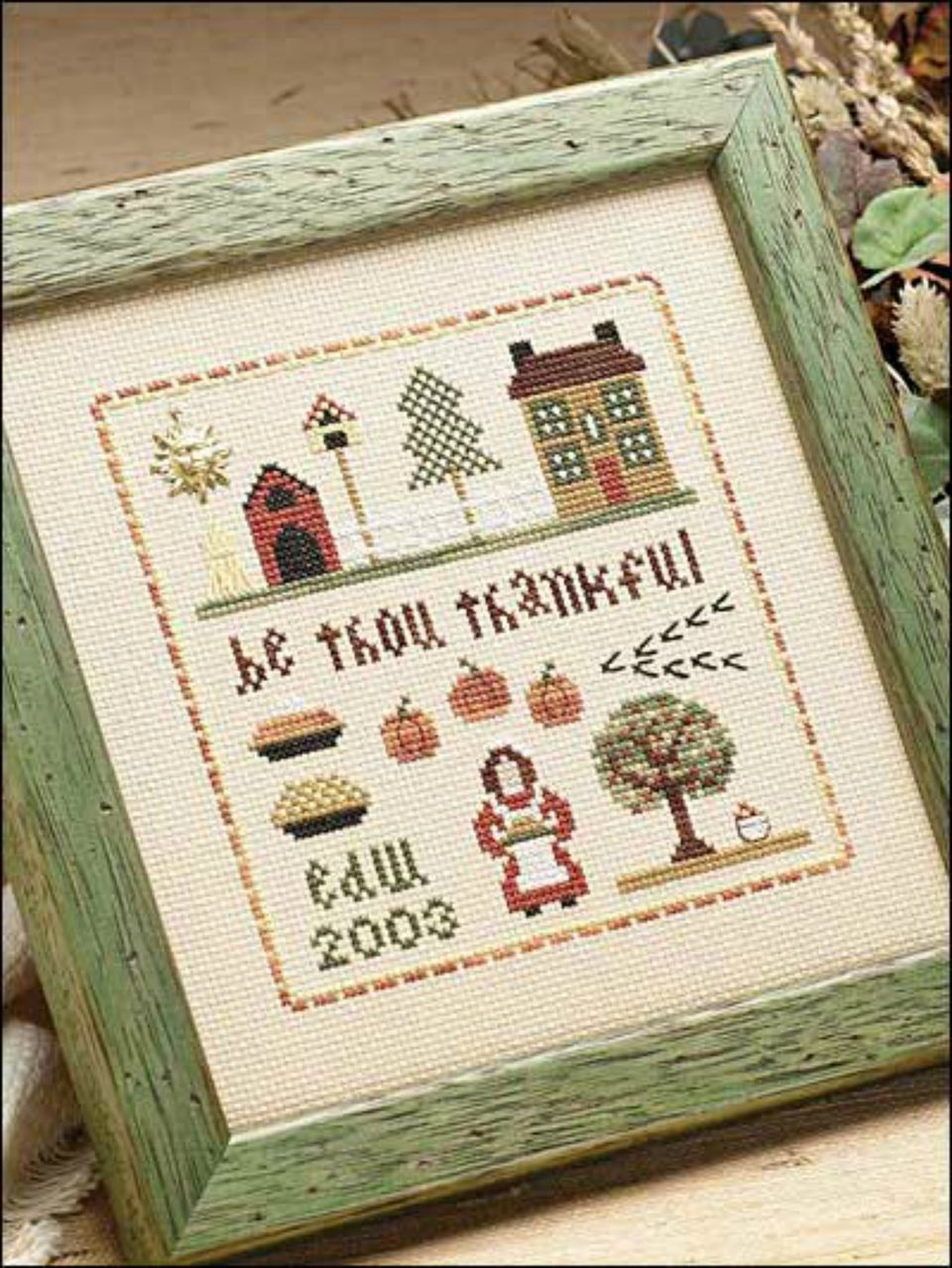 thanksgiving cross stitch pattern